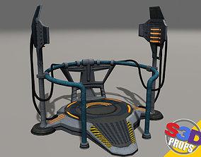 Scifi teleporter 3D