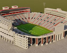 3D model Vaught Hemingway Stadium