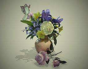 3D asset PBR Bouquet Flowers
