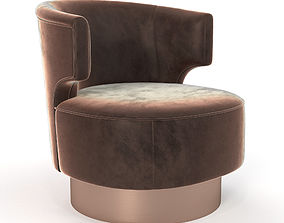 Holly Hunt Mesa Occasional Chair 3D