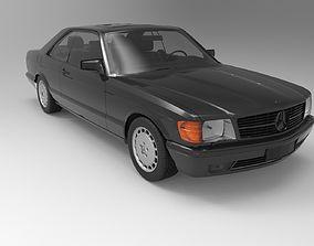3D Mercedes-Benz 560