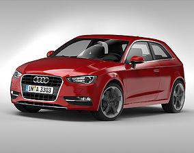 3D model Audi A3 2013