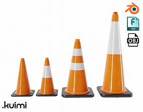 3D model Cones Pack 003