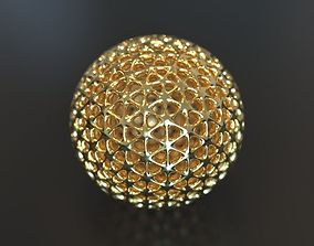Geometry Globe mathematics 3D print model