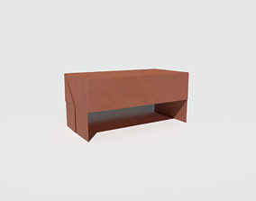 Stupendous Origami Box 3D Asset Vr Ar Ready Cgtrader Gmtry Best Dining Table And Chair Ideas Images Gmtryco
