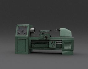 3D model Machine 02 Weathered
