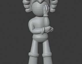 Kaws Astro Boy 3D Print Ready Model