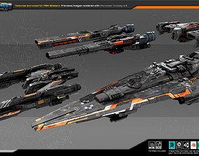 Federation Fleet Pack04 3D model