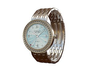 3D asset Tiffany Stainless Women Watch