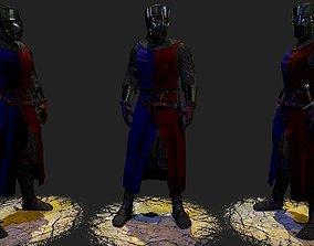 Knight 3D asset VR / AR ready