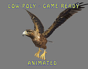 GOLDEN EAGLE 3D MODEL animated game-ready