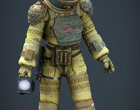 Alien Kane Spacesuit 3D model