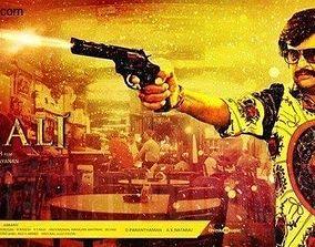 Superstar Rajinikanth 3D Model