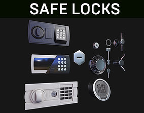 Safe Locks 3D model