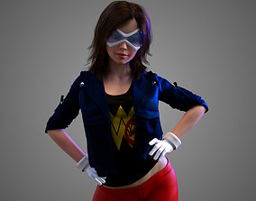 Wonder Girl Young Justice 3D