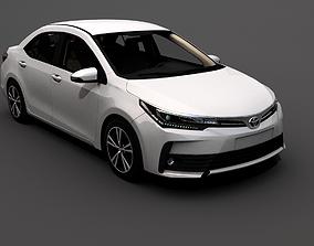 2018 Toyota Corolla 3D asset