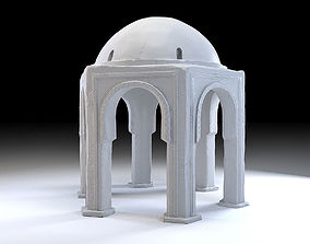 3D model Eastern Dome Building