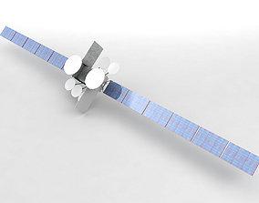 3D asset DirecTV Satellite