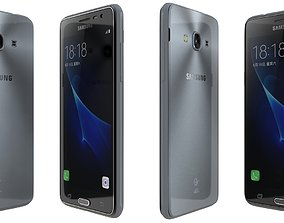 Samsung Galaxy J3 Pro Black 3D model
