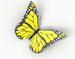 Butterfly insect 3D