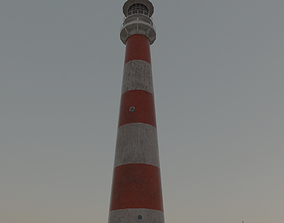 Lighthouse 3D model game-ready