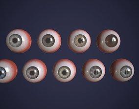 eyeball Realtime eyes pack 3D model