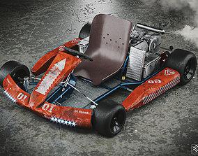 Go Karts 3D model