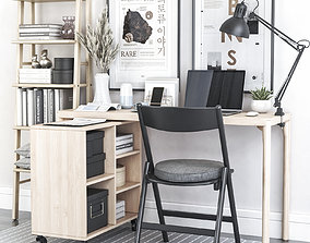 Office workplace 79 3D model