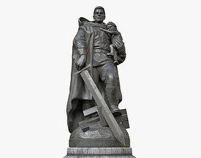 3D model Soviet War Memorial