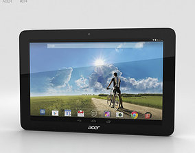 3D model Acer Iconia Tab A3-A20FHD Black