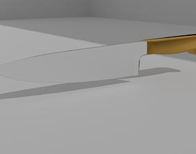 Universal kitchen knife 3D