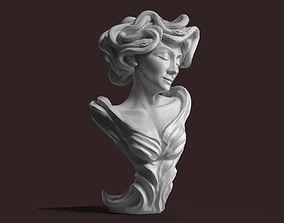 Medusa the Gorgon 3D print model