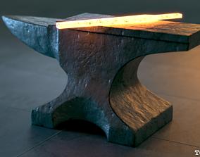 The Iron Anvil - PBR 4K Textures - UDIM 3D asset