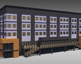 3D model Commercial Building 006