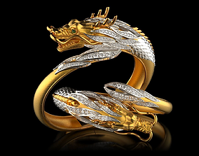 BR0001 - Bracelet DRAGON 3D print model