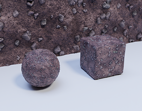 3D model Ground 01 Material