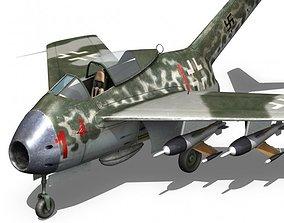Focke Wulf TA 183 Huckebein 3D