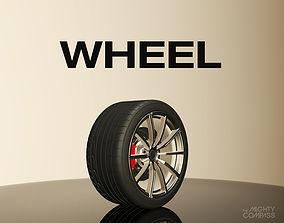 Wheel V1 3D model