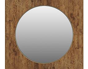 3D model Dantone Home Savanna mirror