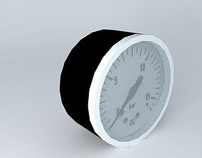 3D Diameter 50 mm gauge G1 4