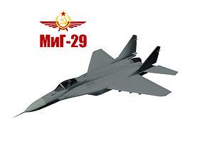 MiG-29S 3D model