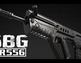 SBG AR556 3D model