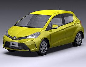 3D 2014 Toyota Vitz