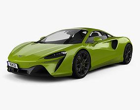 3D model McLaren Artura 2021