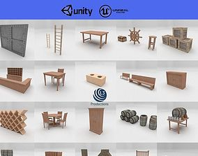 27 Forniture Collection 3D model