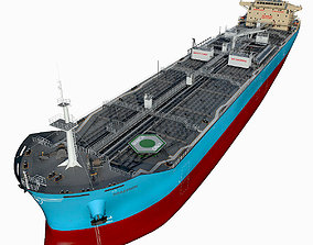 3D Oil Products Tanker Maersk hquality