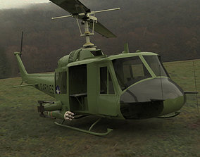 Huey Helicopter 3D
