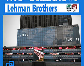 NYC Building Lehman Brothers 3D