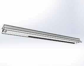 3D CFL Lamp 2x T8 36W