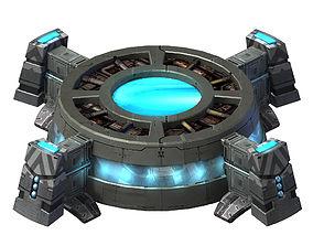 3D Moon - Air Supply Station 01